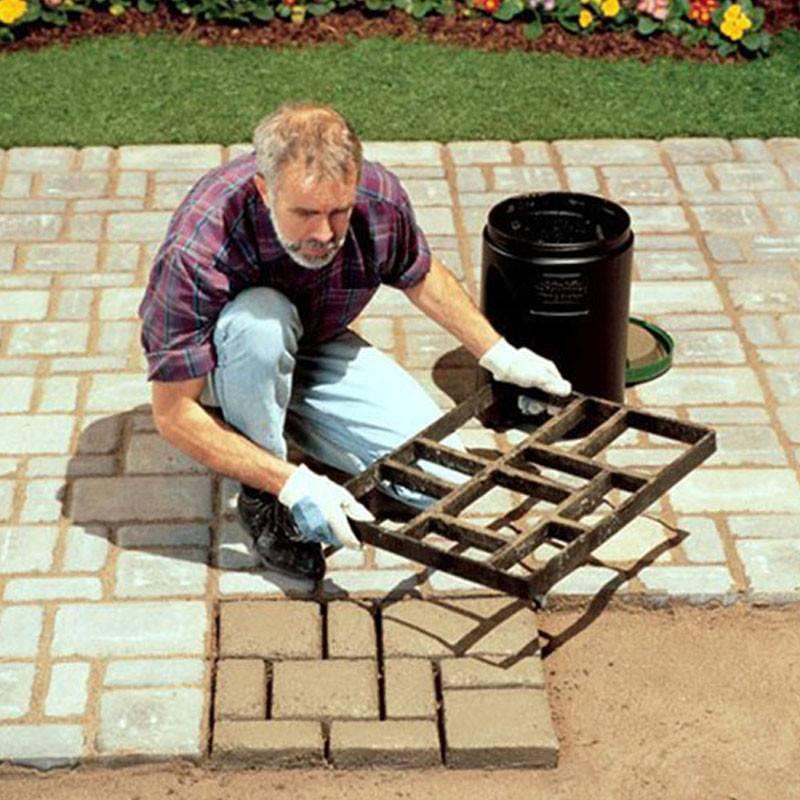 Укладка тротуарной плитки своими руками (пошаговая инструкция)