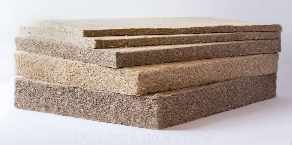 Льняной утеплитель для стен в плитах: плюсы и минусы