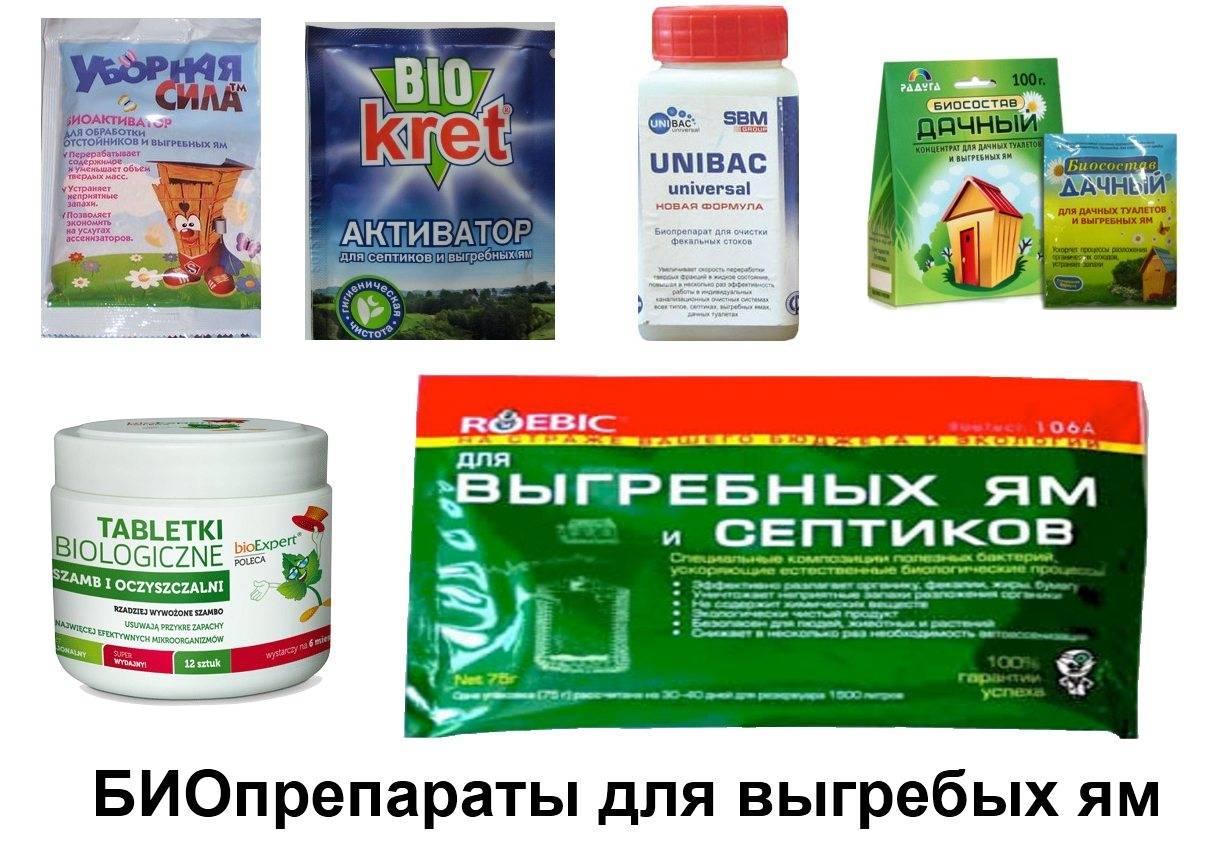Бактерии для септиков и выгребных ям.