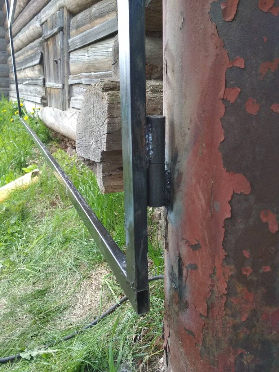 Как приварить петли на ворота самостоятельно?