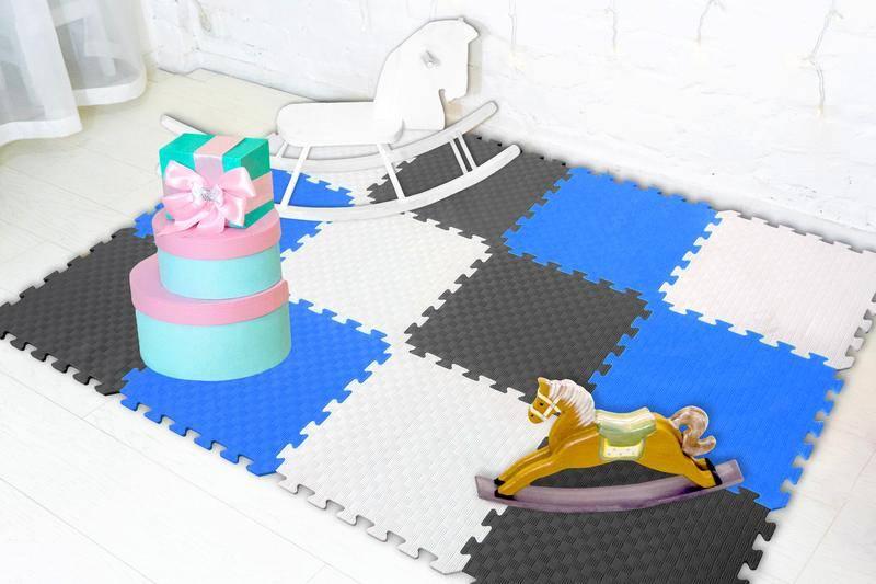 Удобный мягкий пол для детских комнат: 5 популярных вариантов