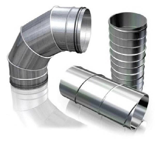 Фасонные изделия для воздуховодов из оцинкованной стали