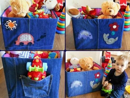 Ящик для игрушек своими руками (30 фото): из коробки и фанеры