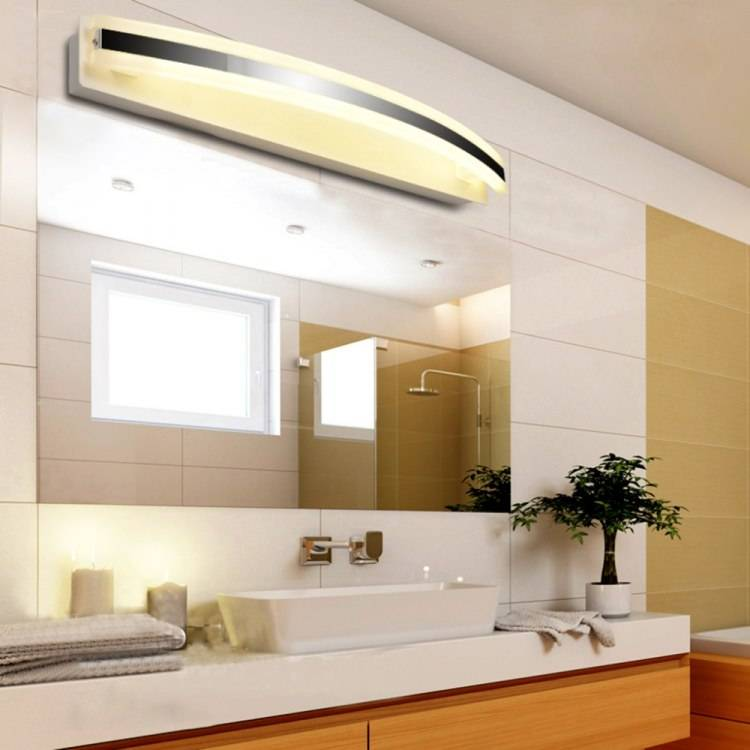Светильники для ванной - как правильно подобрать и подключить современные варианты светильников