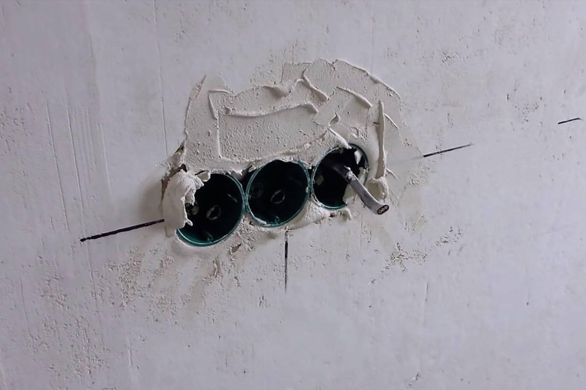 Прокладка кабеля в гипсокартоне: монтаж электропроводки под гипсокартон, как сделать проводку под гипсокартоном
