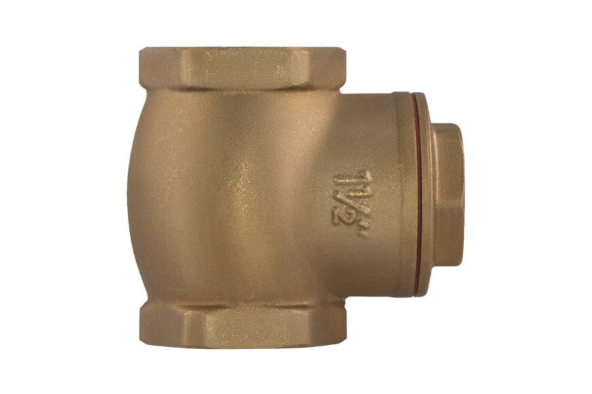 Обратный клапан для отопления: устройство и принцип работы шарового и гравитационного