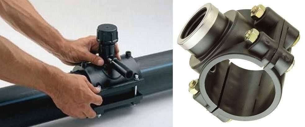 Как соединить пнд трубу: виды перехода (фитингами, фланцем или сваркой), как правильно для водопровода 50 и 110мм