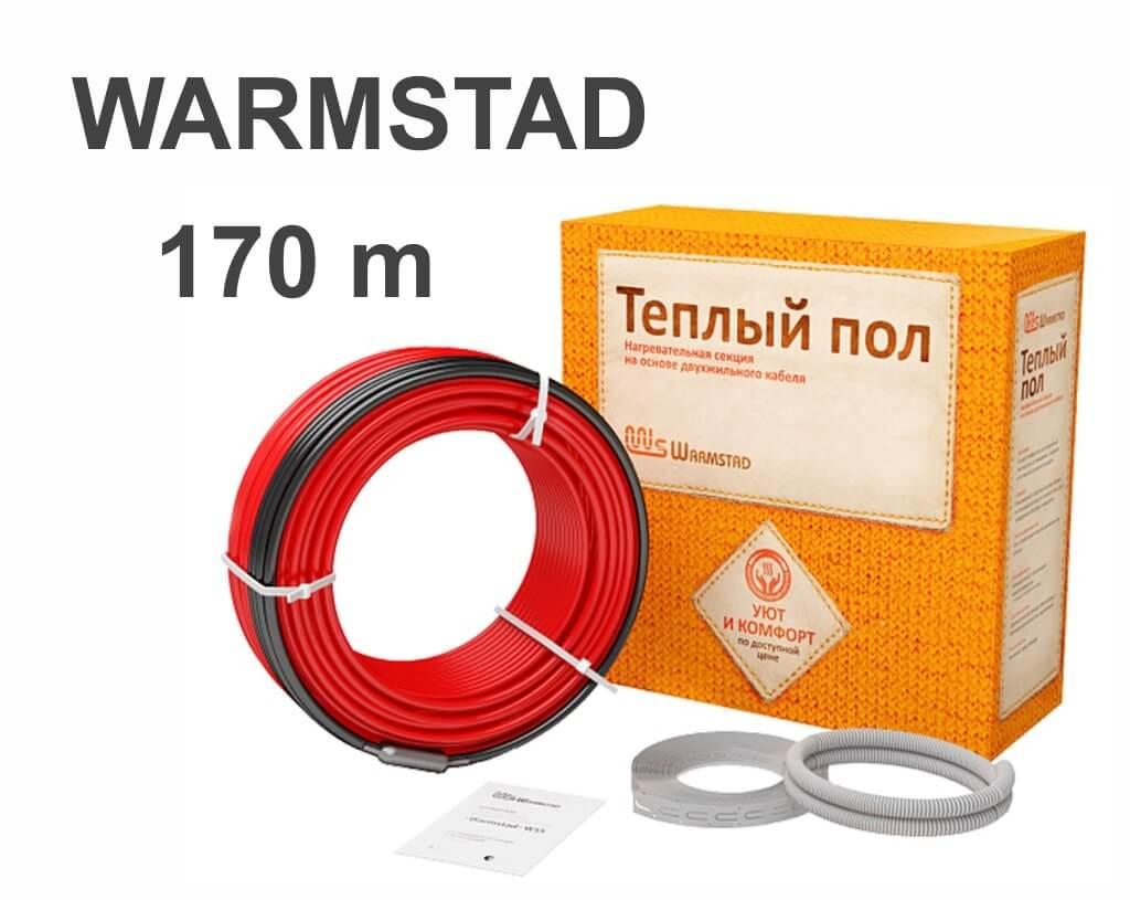 Технические характеристики теплого пола Warmstad