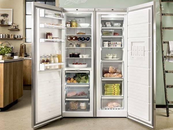 Холодильник двухдверный - описание популярных моделей от ведущих производителей с ценой и фото