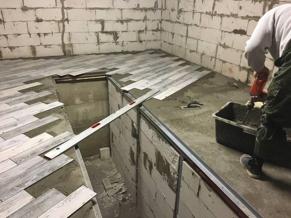 Пол в гараже (77 фото): варианты напольных покрытий - какие лучше и дешевле, гидроизоляция полимерного и деревянного полов