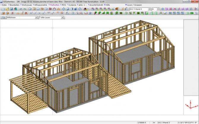 Программы и приложения для проектирования каркасных домов