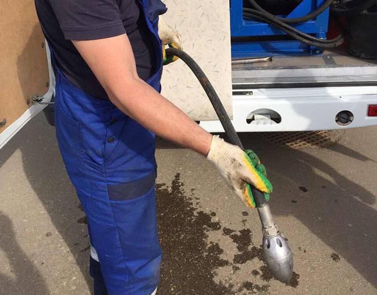 Промывка канализации гидродинамическим способом – этапы устранения засоров и принцип работы установки