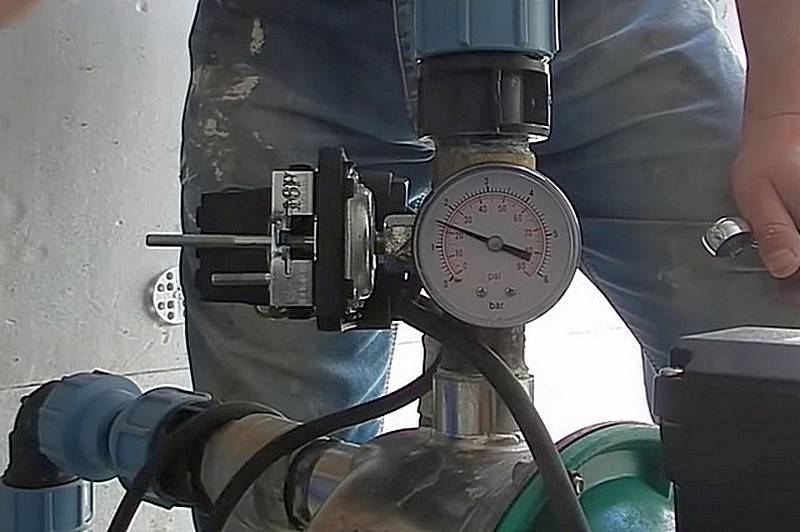 Регулировка насосной станции – как правильно отрегулировать реле давления воды