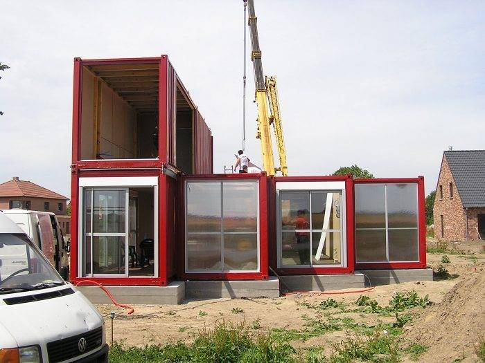 Блок-контейнеры в дачном домостроении и быту