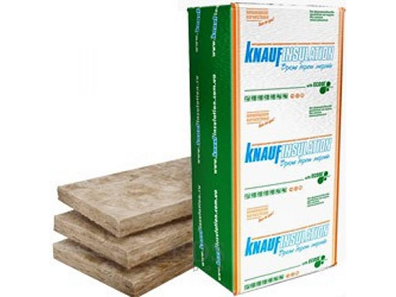 Теплоизоляция для дома кнауф, технические характеристики и область применения утеплителя knauf