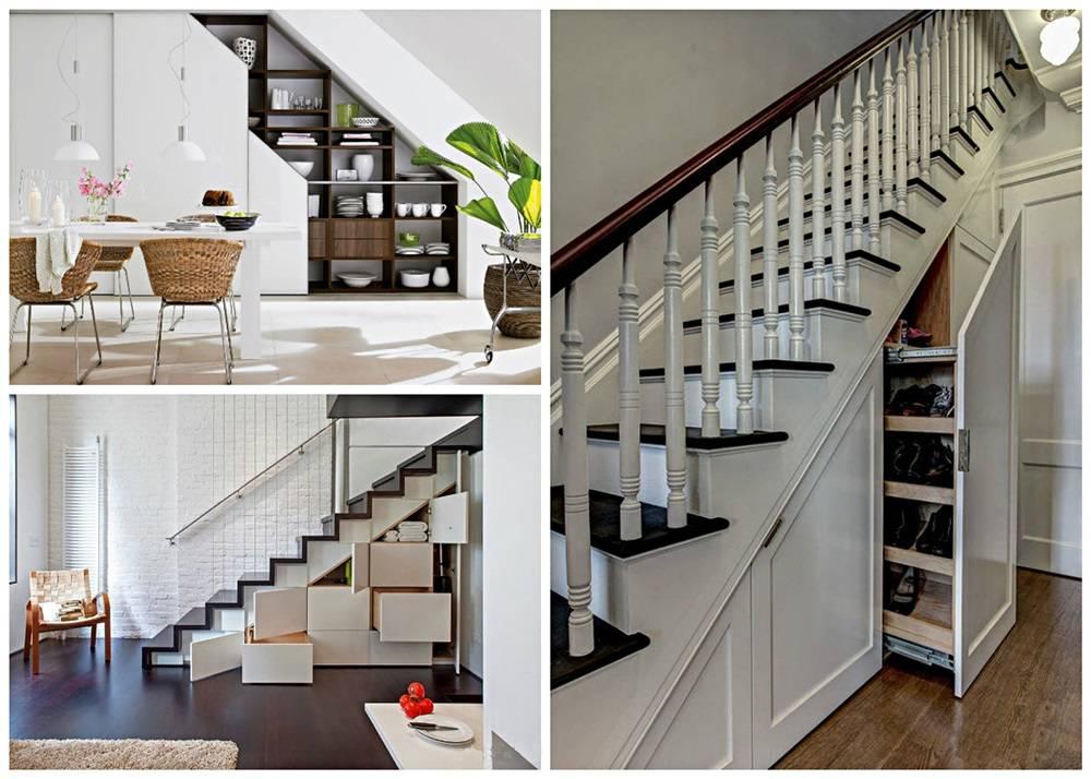 Пространство под лестницей - как использовать правильно в дизайне интерьера