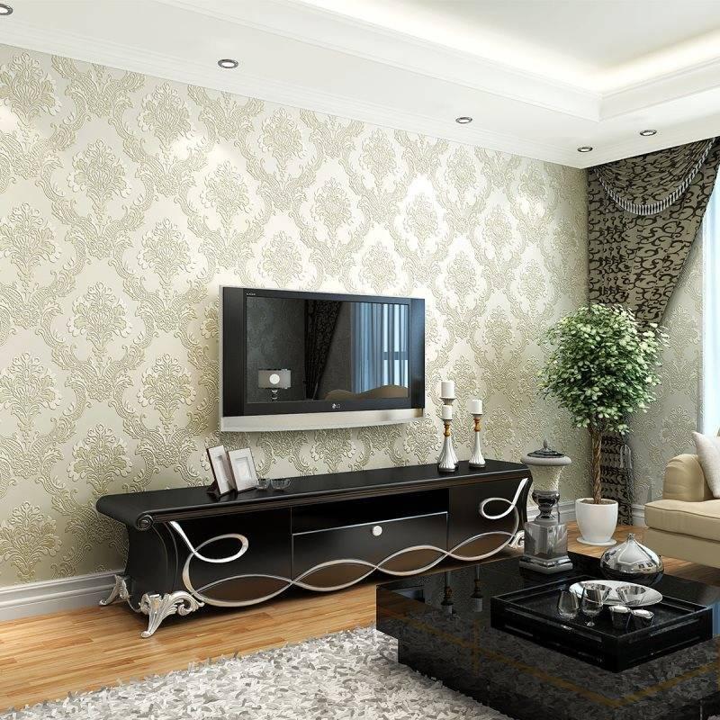 Обои для гостиной: лучшие идеи дизайна, сочетания в интерьере + фото современных интерьеров