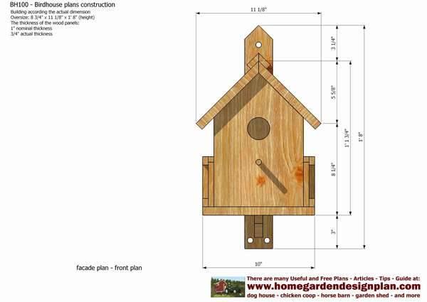 Как сделать скворечник своими руками из дерева и подручных материалов - строительство и ремонт