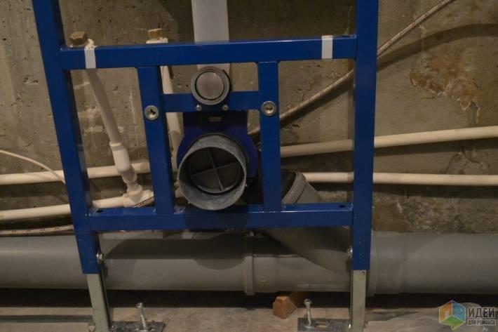 Монтаж инсталляции унитазов: установка и крепление унитаза на инсталляцию, как установить своими руками, схема