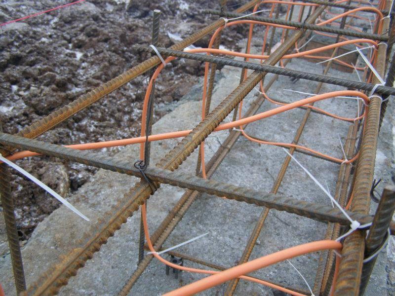 Кабель для прогрева бетона, купить греющий кабель прогрева бетона – гк «сст»