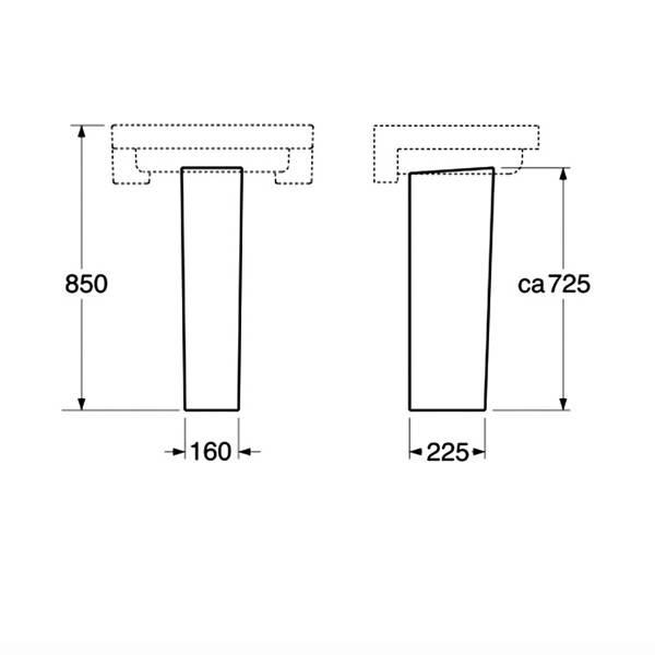 Раковина для ванной с пьедесталом: технология установки и подключения