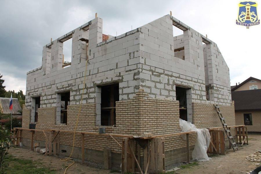 Как построить дом из газобетона своими руками без опыта строительства