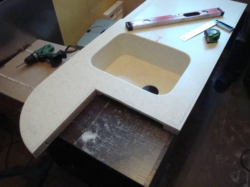 Столешница своими руками - идеи и варианты как сделать простую, надежную и красивую столешницу (140 фото)