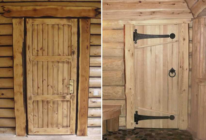 Как сделать дверь в баню своими руками?
