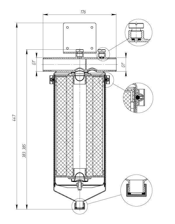 Фильтр для горячей воды от ржавчины: как выбрать по типу и установить - vodatyt.ru