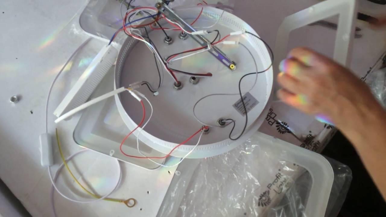 Как отремонтировать светодиодную люстру с пультом управления