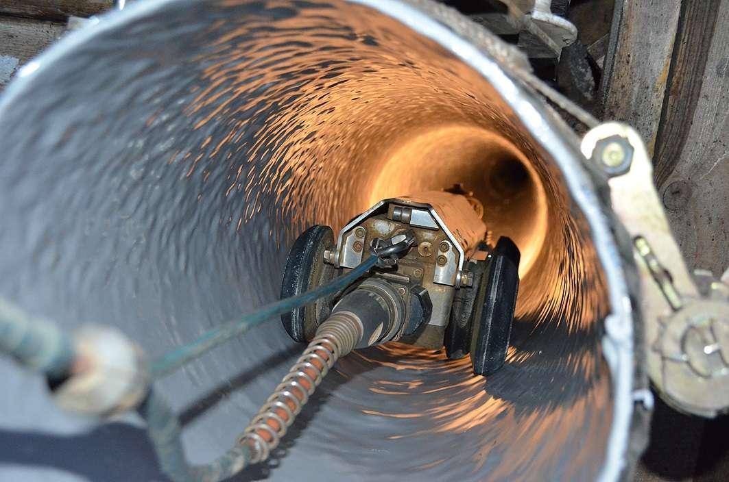 Исполнительная съемка канализации