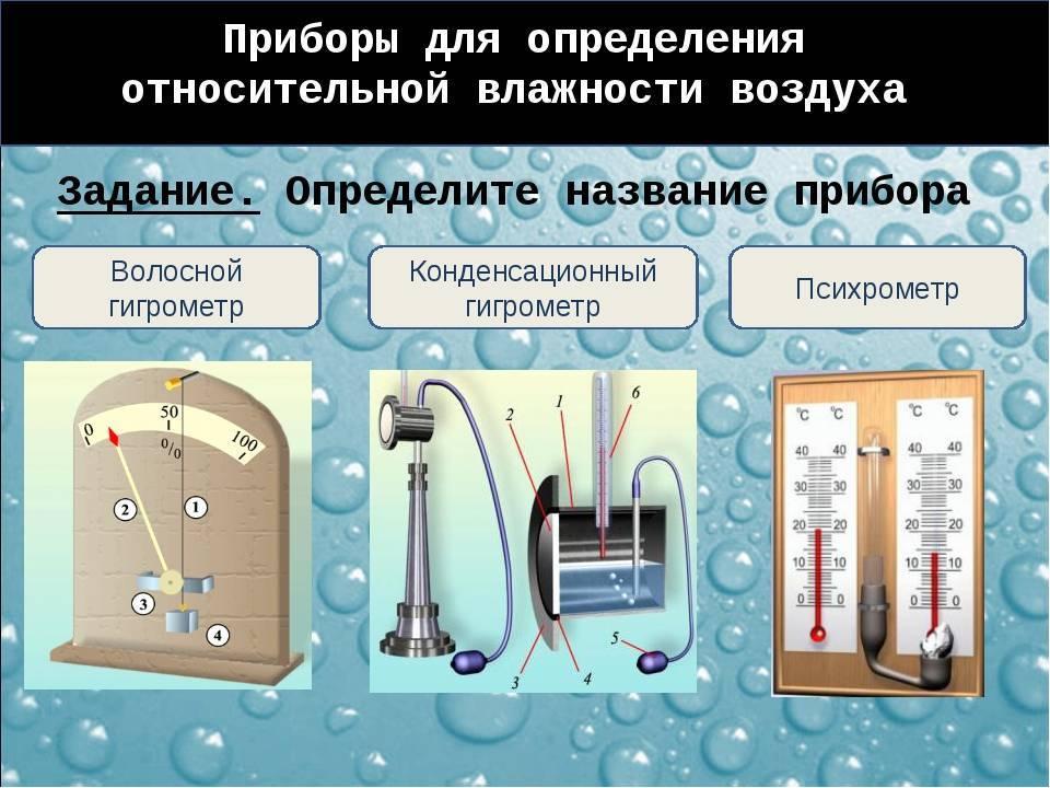 Калькулятор расчета относительной влажности воздуха в помещении - с необходимыми пояснениями