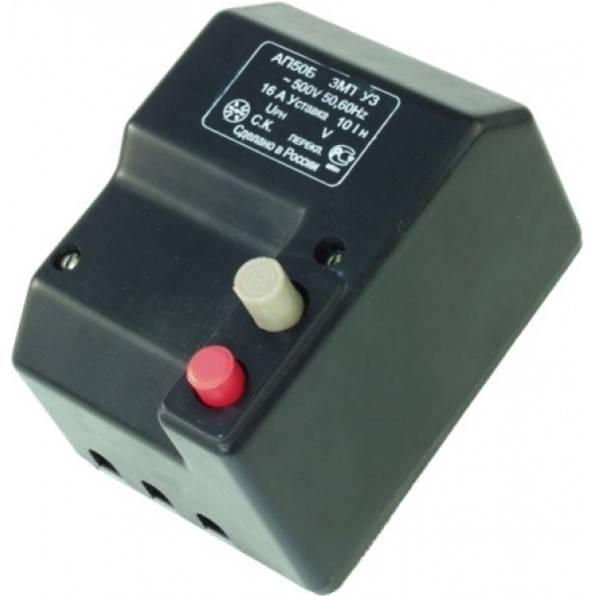 Автоматический выключатель ап50б описание