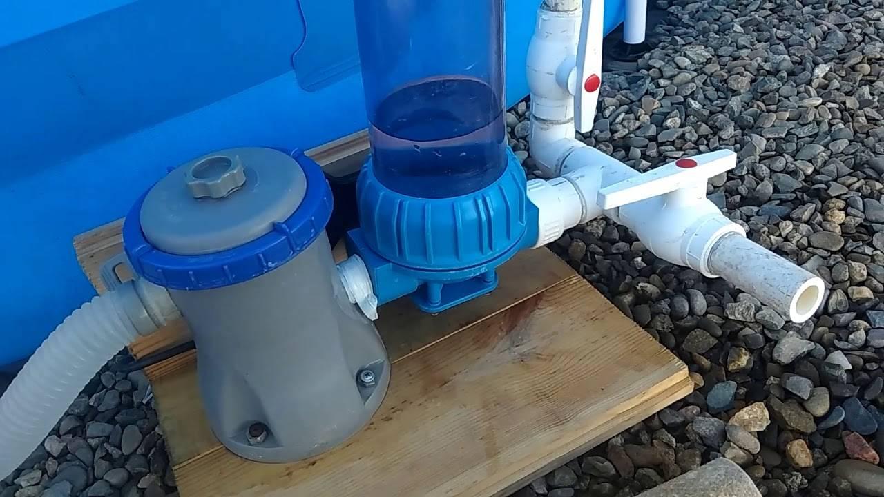 Самодельный песочный фильтр для бассейна: конструируем и подключаем самостоятельно