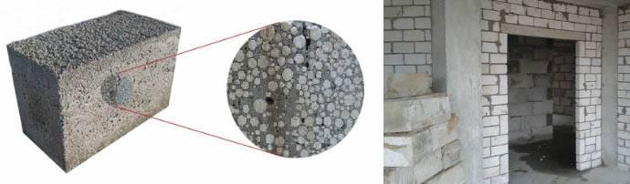 Преимущества и недостатки полистиролбетонных блоков