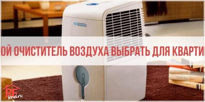 Особенности воздухоочистителей для аллергиков, обзор моделей
