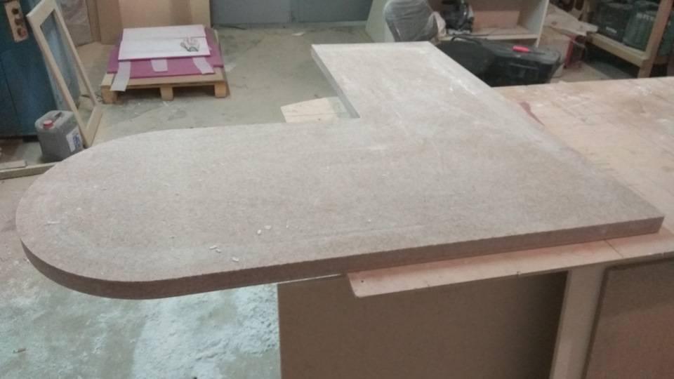 Столешница из искусственного камня своими руками: пошаговое изготовление столешницы