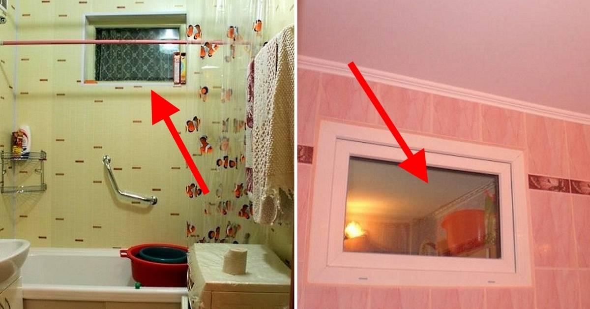 Загадка хрущевок: зачем нужно окно между ванной икухней | realty.tut.by