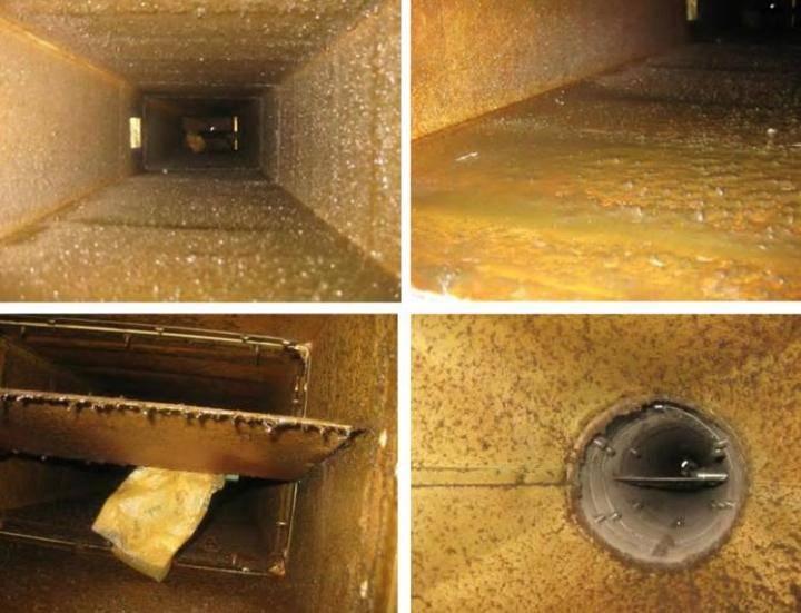 Чистка и дезинфекция систем вентиляции и кондиционирования