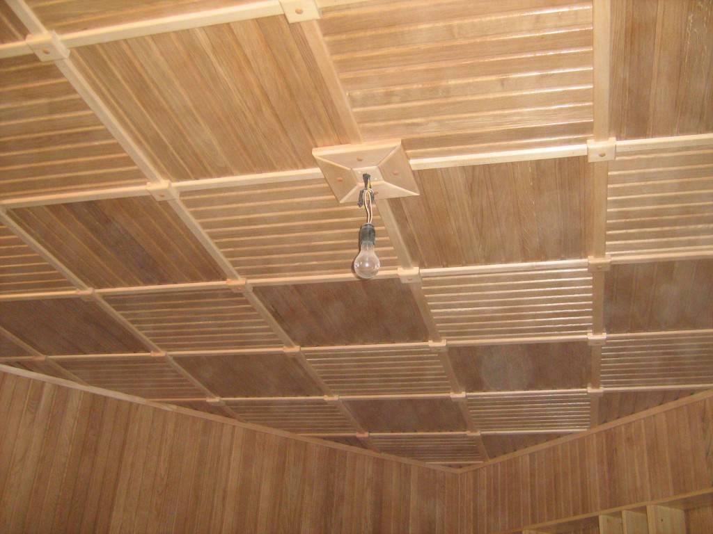 Потолок на кухне - какой лучше сделать, обзор доступных вариантов