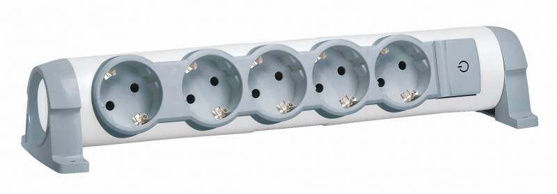 Электрический тройник для розетки: с выключателем, на 2, 3 или 4 розетчки
