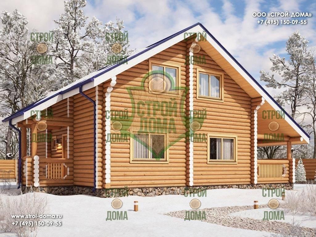 Дома из бревна: как построить качественное и тёплое жилище?