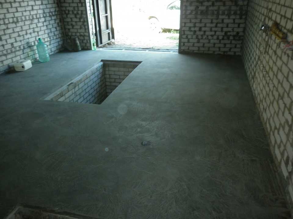 Пол в гараже - варианты покрытия своими руками, чем можно залить кроме бетона