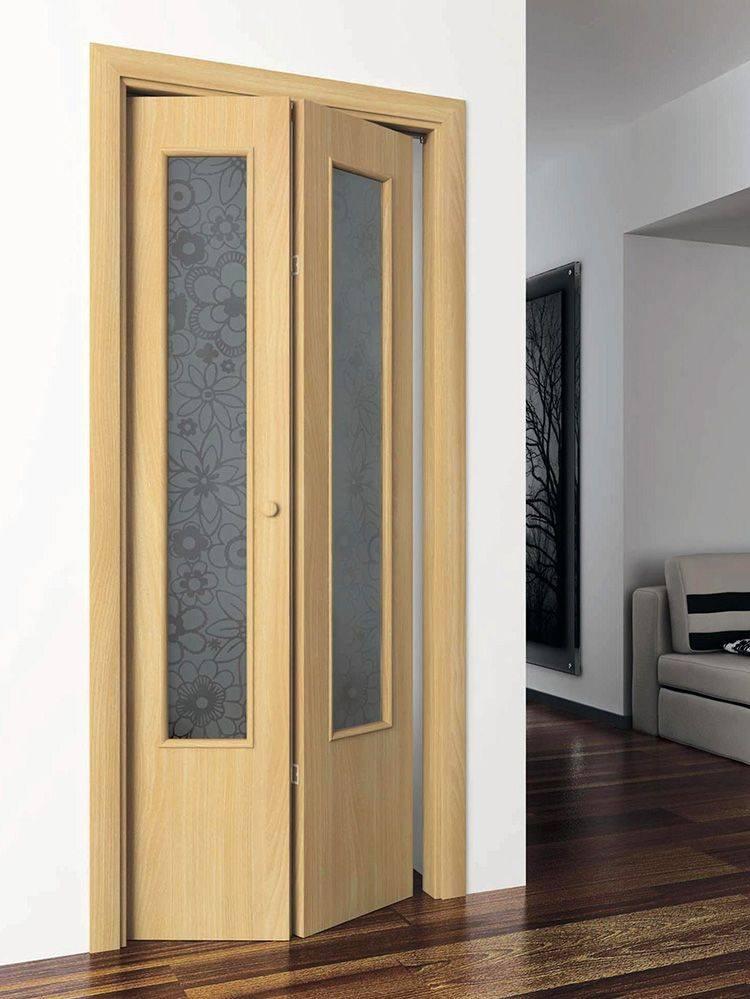 Гармошка своими руками: размеры складвающихся дверей