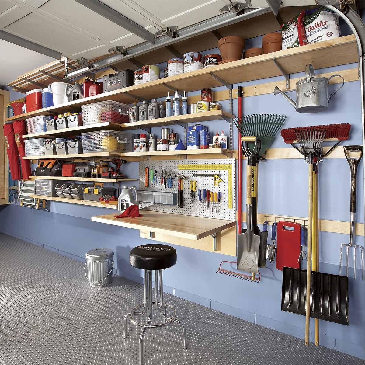 Как обустроить гараж - 109 фото примеров