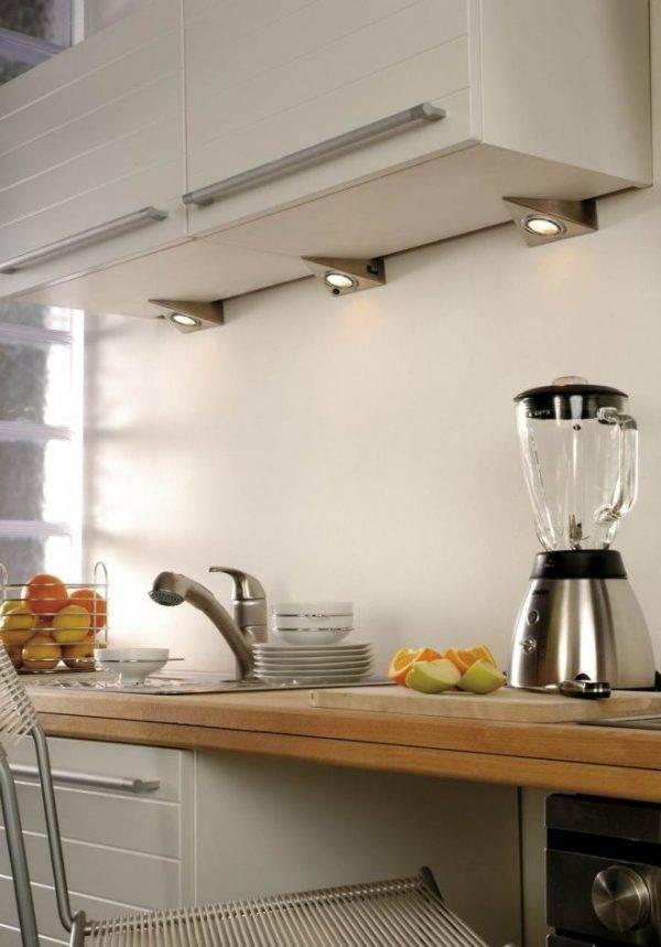 Как правильно организовать освещение на кухне