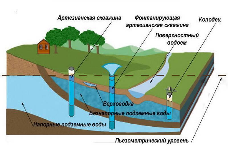 Как определить глубину залегания грунтовых вод на участке?