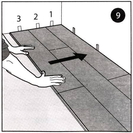 Пошаговая инструкция по укладке ламината своими руками