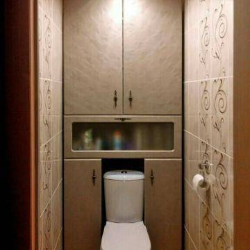 Требования к шкафчикам в туалет, варианты оформления, формы и размеры