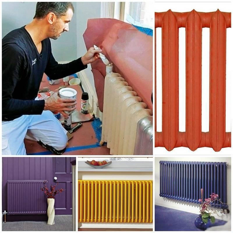 Краска для труб отопления - как и чем покрасить трубы отопления в квартире?